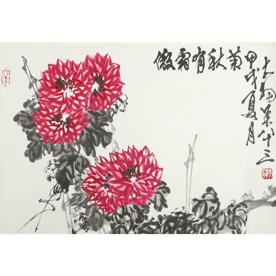 陈大羽 傲霜有秋菊