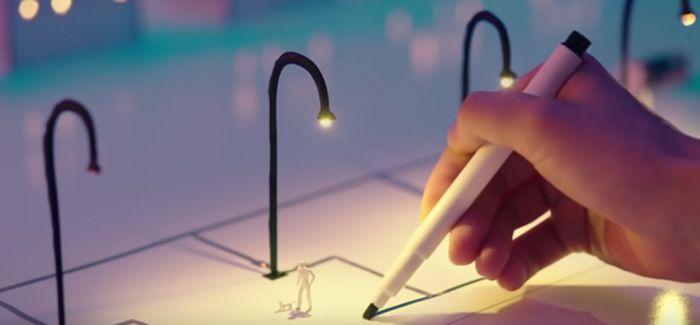 免尖叫的发光魔法!点亮未来的银墨水电路笔