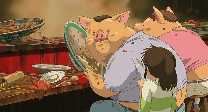 Studio Ghibli Finally Explained Why Chihiro's Parents Turned Into Pigs 2