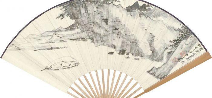 台北故宫里收藏的珍贵折扇