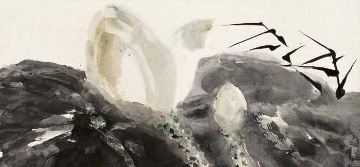 石鲁作品亮相武汉美术馆 画作行内估价高达数亿元