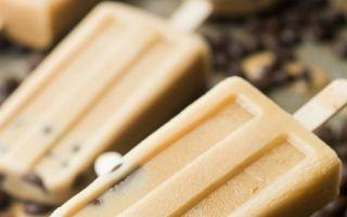 大人的夏日甜点:黑巧克力摩卡冰棒