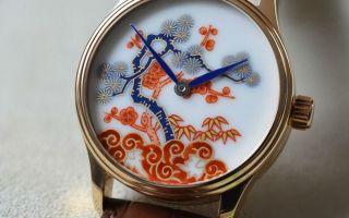 400 岁生日的奢华惊喜!日瑞混血的有田烧手表