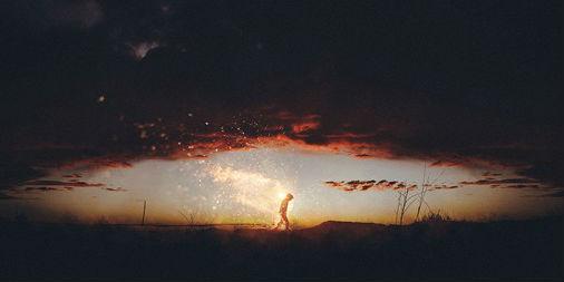 超现实主义人像及风光摄影大片欣赏