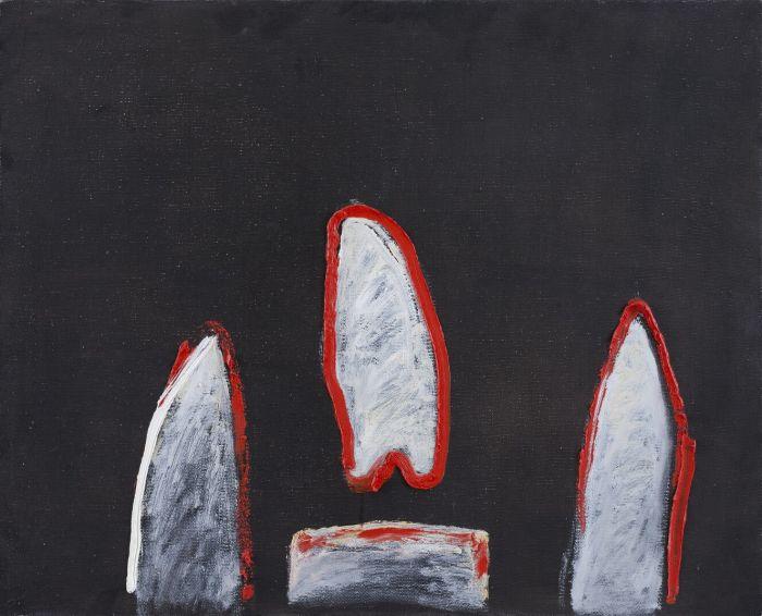 蜡烛Candles,73.5x92cm,布面油画oil on canvas,2015