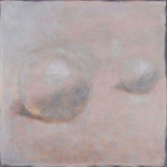 珍珠Pearl,150x150cm,布面油画画oil on canva,2015