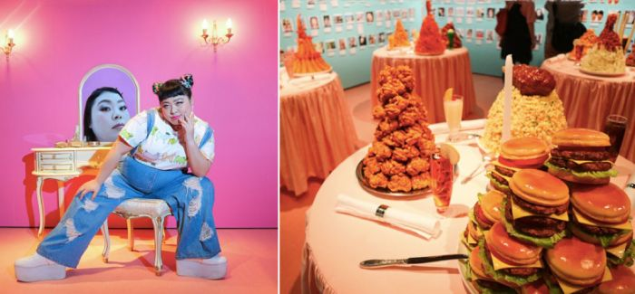 日本 Instagram 上最火的胖姑娘  给自己来了场个人展览