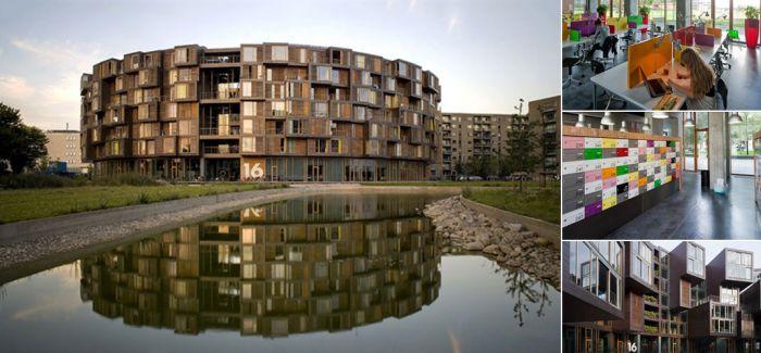别人家的宿舍 !丹麦哥本哈根:全世界最酷的大学宿舍!