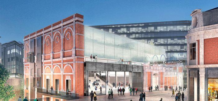 伦敦博物馆新馆公布建筑师名单和设计方案