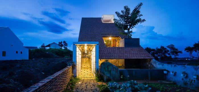 越南乡下一座可以与自然游戏的住宅 Uncle's House