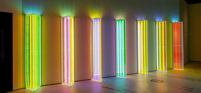 liz west在伦敦自然历史博物馆里的光线作品