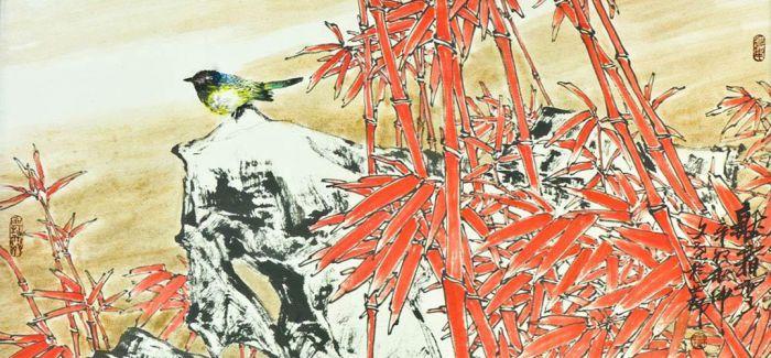 梁文尧花鸟画作品进驻2016第十九届北京艺术博览会