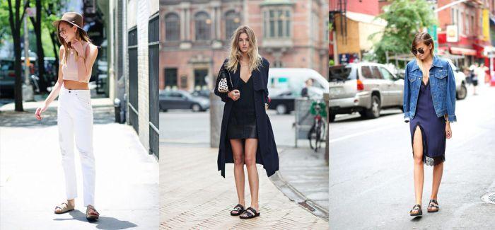 2016依旧流行的勃肯鞋  怎么穿才够时尚