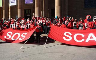 悉尼大学考虑关闭美术学院引发争议
