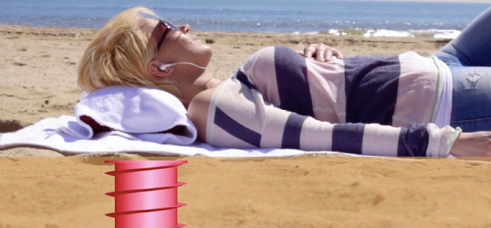 隐藏的保险箱!海滩必备的神奇海螺