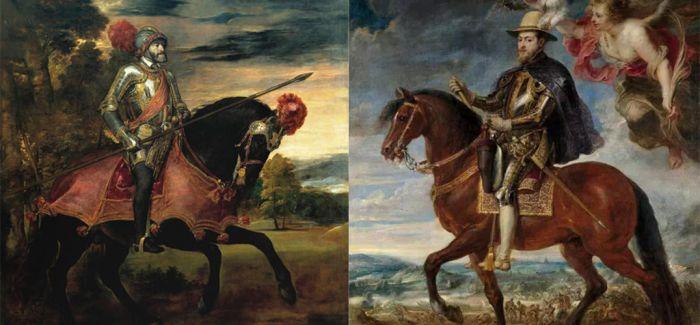 那些艺术家笔下的帝王骑马肖像画