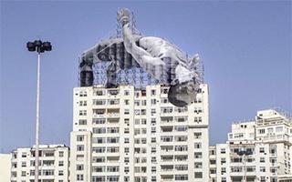 跳入大海 跃过高楼——艺术家JR带你玩转里约奥运