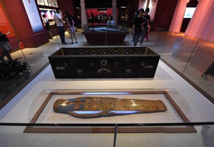 南京博物院《古埃及文物》展原图