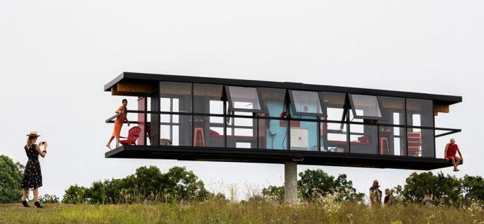 空中跷跷板:旋转的住宅 ReActor house
