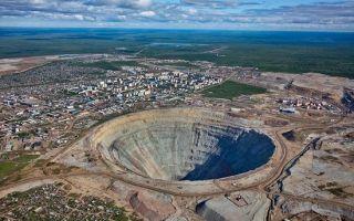 世界最值钱的坑:西伯利亚惊现全球最大钻石矿
