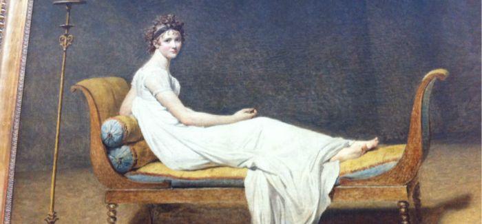 贵妃榻上有一朵绽放的花:《雷卡米耶夫人像》赏析