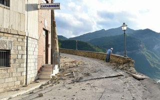 意大利 缅甸接连发生大地震后的废墟景象