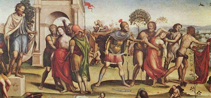 索多马:站在拉斐尔身旁的画家