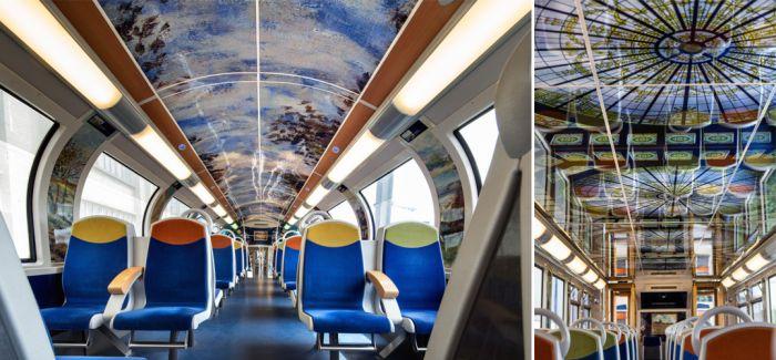 印象派列车!巴黎铁路公司送给顾客的艺术之旅