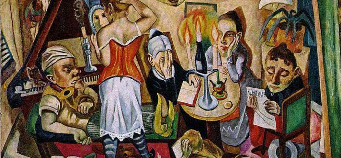 1949至1950:马克思·贝克曼的纽约时期