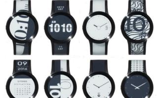 SONY 旗下集资平台   推出新版电子纸手表 FES Watch U