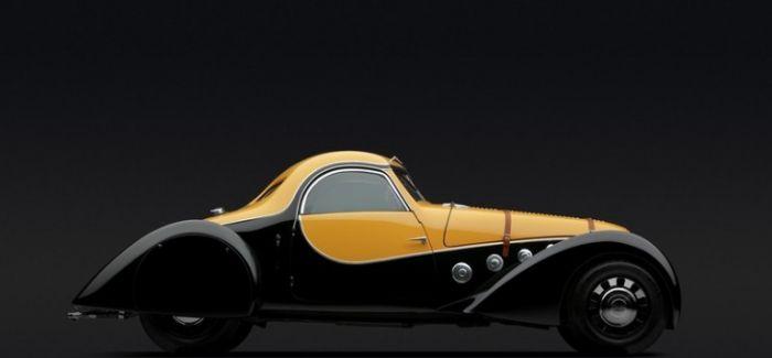 移动的雕塑: Art Deco风格汽车