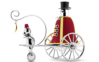 marcel wanders新作:重温童年马戏团的欢乐时光