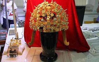 隋炀帝萧后冠西安首露真容 揭示隋唐礼冠制度