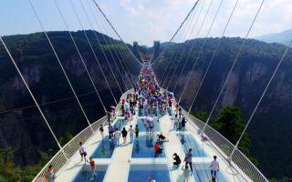 就算恐高也要去!全世界最长最高的张家界玻璃桥已开放