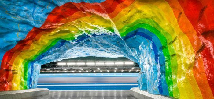 这么美的地铁站 你见过么