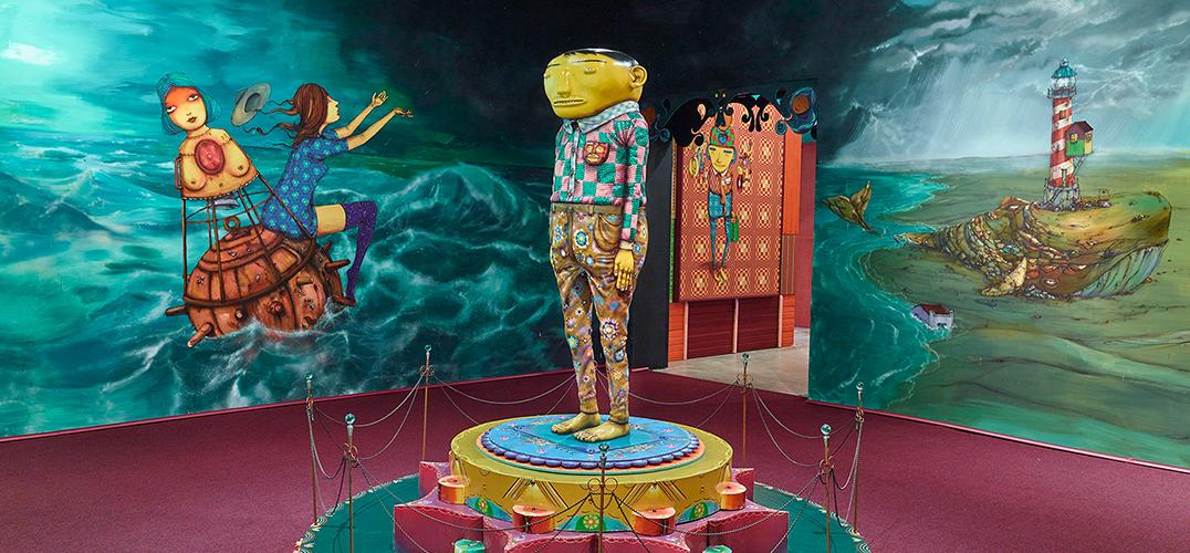 """巴西双胞胎艺术家二人组呈现""""OSGEMEOS沉默的音乐"""""""