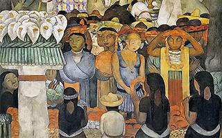 里维拉与毕加索:两个男人跨时光的对话