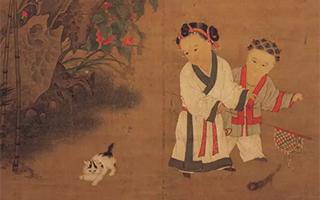 宋代童婴题材绘画中的童装秋冬款