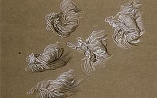 优雅的流动线条:它们的褶皱中有古希腊的荣光