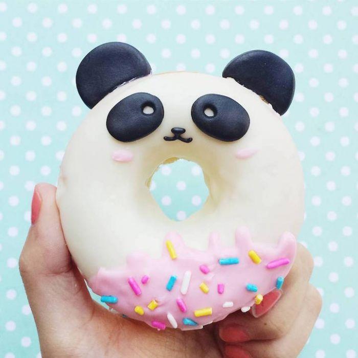 超级可爱的动物甜甜圈让人甚至舍不得下口