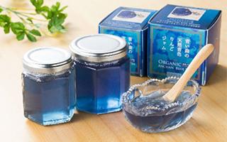 超梦幻蓝色果酱:日本青森苹果的华丽变身