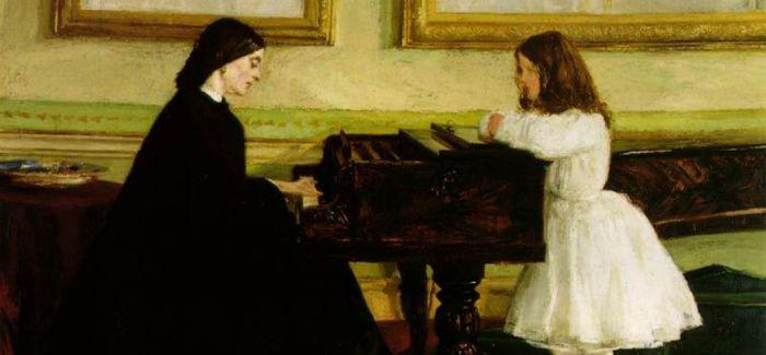 油画里的钢琴声