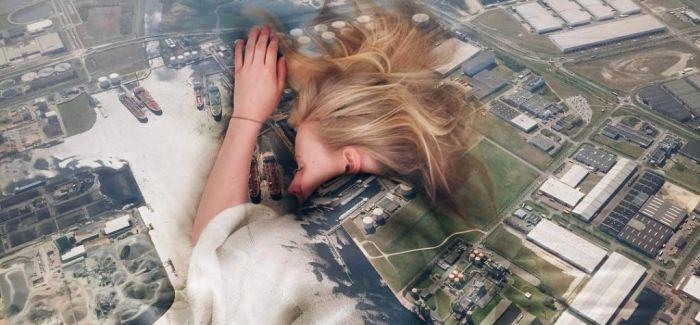 摄影师通过将世界翻转和折叠创建超现实景象