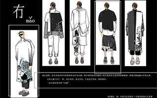中国风全球男装设计大赛天马行空创意奖作品