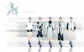 中国风全球男装设计大赛最具商业潜力奖:《浑》