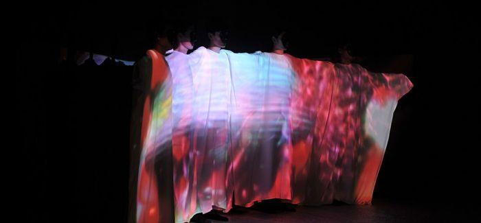 中英艺术时尚盛典现场直击——时空艺术多媒体秀