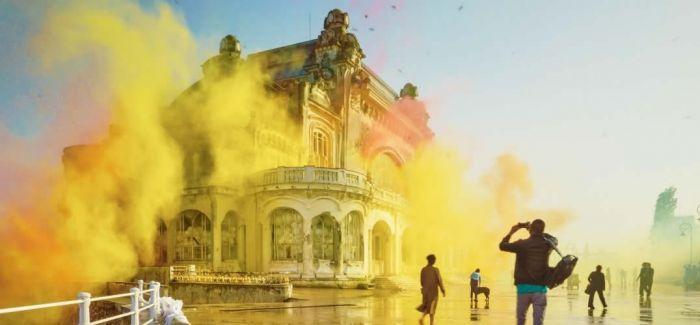 看见真实的色彩  4k 录影拍下老赌场的华丽爆炸