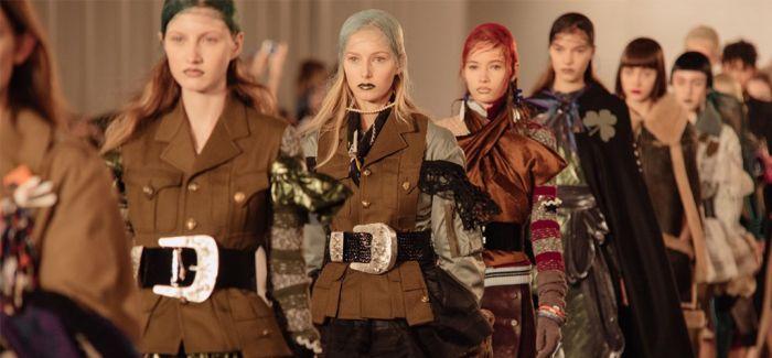 战地摄影记者转型ing 用蒙太奇手法演绎时尚秀场