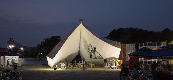 最古老金属活字印刷佛经化作巨型装置降落艺术中心