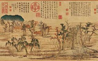 马远王蒙等名家名画里的秋天 你更喜欢哪种风格